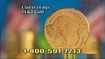 National Collector's Mint 2016 Gold Buffalo Tribute Proof TV Spot, 'Dollar' - Thumbnail 8