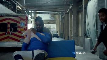 FanDuel TV Spot, 'Injury Cart' Featuring Pooch Hall - Thumbnail 1