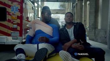 FanDuel TV Spot, 'Injury Cart' Featuring Pooch Hall - Thumbnail 2