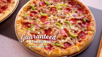 CiCi's Pizza TV Spot, 'Loaded Flavor Without the Loaded Price'