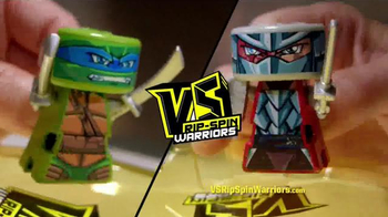 VS Rip-Spin Warriors: Leonardo vs. Shredder thumbnail