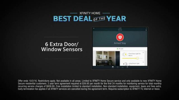 XFINITY Home Best Deal of the Year TV Spot, 'Mysteries' - Thumbnail 9