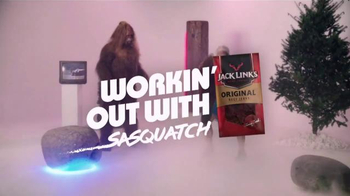 Jack Link's TV Spot, 'SasquatchWorkout: Beaver Squats' Feat. Clay Matthews - Thumbnail 1