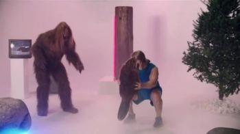 Jack Link's TV Spot, 'SasquatchWorkout: Beaver Squats' Feat. Clay Matthews - Thumbnail 2