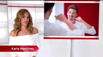 Colgate Total Advanced TV Spot, 'Bacteria' con Karla Martínez [Spanish] - 734 commercial airings