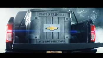 Chevrolet Silverado TV Spot, 'The Journey to ESPN College GameDay: Week 1' - Thumbnail 4