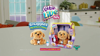 Little Live Pets Snuggles TV Spot, 'My Dream Puppy' - Thumbnail 9