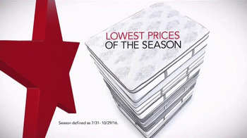 Macy's Labor Day Mattress Sale TV Spot, 'Special Financing' - Thumbnail 1