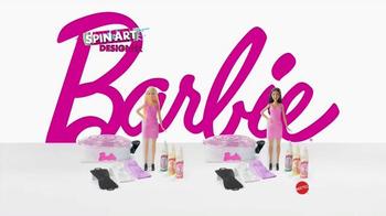 Barbie Spin Art Designer TV Spot, 'Design and Paint Your Passion' - Thumbnail 6