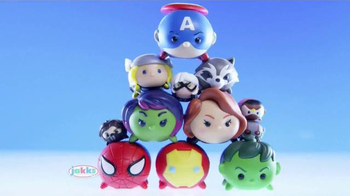 Marvel Tsum Tsum TV Spot, 'Unite' - 313 commercial airings