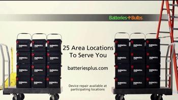 Batteries Plus TV Spot, 'Car Batteries' - Thumbnail 6