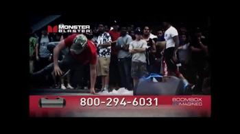 Monster Blaster TV Spot, 'Boombox Reimagined' - Thumbnail 4