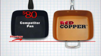 Red Copper Square Pan TV Spot, 'Skillet, Fryer and More' - Thumbnail 6