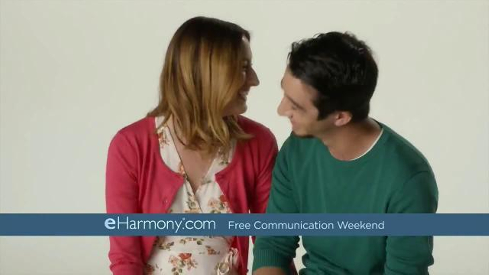 eHarmony Free Communication Weekend TV Commercial