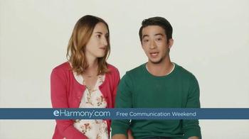 eHarmony Free Communication Weekend TV Spot, \'Getting Started\'