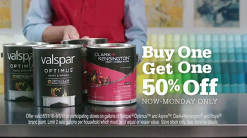 ACE Hardware Big Labor Day Weekend Paint Sale TV Spot, 'BOGO Paint'