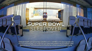 Courtyard Marriott Sleepover Contest TV Spot, 'Wake Up at Super Bowl LI' - Thumbnail 9