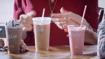 McDonald's McCafé Frappés & Smoothies TV Spot, 'Hello Socializing' - 20 commercial airings