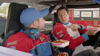 Sonic BOGO Wing Night TV Spot, 'NBC Sports Network: NASCAR' - Thumbnail 7