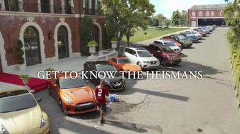 Nissan TV Spot, 'Heisman House Garage' Feat. Marcus Mariota, Derrick Henry - Thumbnail 8