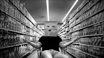 Albertsons TV Spot, 'Paper Bag Disguise'