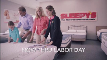 Sleepy's Labor Day Sale TV Spot, 'Doorbusters'