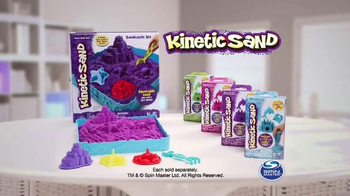 Kinetic Sand Sandcastle Set TV Spot, 'Magical Lands' - Thumbnail 10