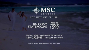 MSC Cruises TV Spot, 'Beyond Just Ordinary' - Thumbnail 10