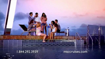 MSC Cruises TV Spot, 'Beyond Just Ordinary'