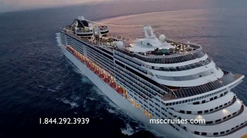 MSC Cruises TV Spot, 'Beyond Just Ordinary' - Thumbnail 8