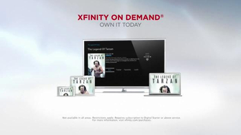 XFINITY On Demand TV Spot, 'The Legend of Tarzan' - Thumbnail 8