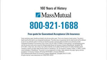 MassMutual Guaranteed Acceptance Life Insurance TV Spot, 'Standard' - Thumbnail 9