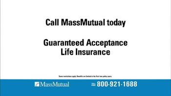 MassMutual Guaranteed Acceptance Life Insurance TV Spot, 'Standard' - Thumbnail 1
