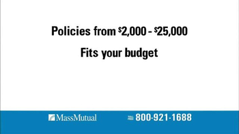 MassMutual Guaranteed Acceptance Life Insurance TV Spot, 'Standard' - Thumbnail 4