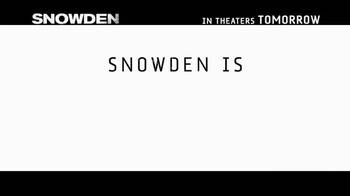 Snowden - Alternate Trailer 26