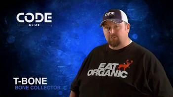Code Blue TV Spot, 'Code Blue + Bone Collector: Powerful' - Thumbnail 7