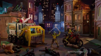 Teenage Mutant Ninja Turtles Playsets TV Spot, 'Gear up for Battle' - 1381 commercial airings