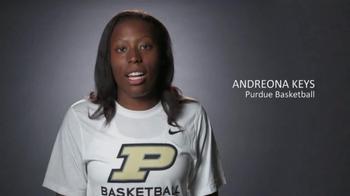 Big Ten Conference TV Spot, 'Faces of the Big Ten: Andreona Keys' - Thumbnail 2