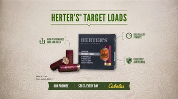 Cabela's TV Spot, 'Every Day Value Products: Herter's Target Loads' - Thumbnail 5