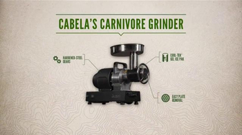 Cabela's Carnivore Grinder TV Spot, 'Every Day Value: Half a Horse' - Thumbnail 7