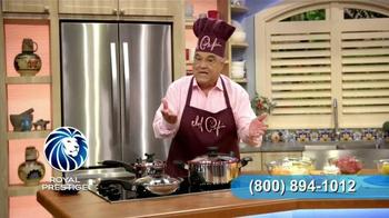 Royal Prestige Innove TV Spot, 'Silicona' con Chef Pepín [Spanish]