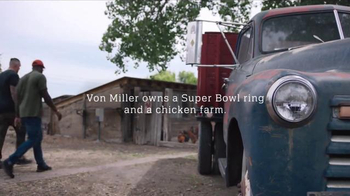 NFL TV Spot, 'Football Is Family: Von Miller's Chicken Farm' Ft. Von Miller - 1206 commercial airings