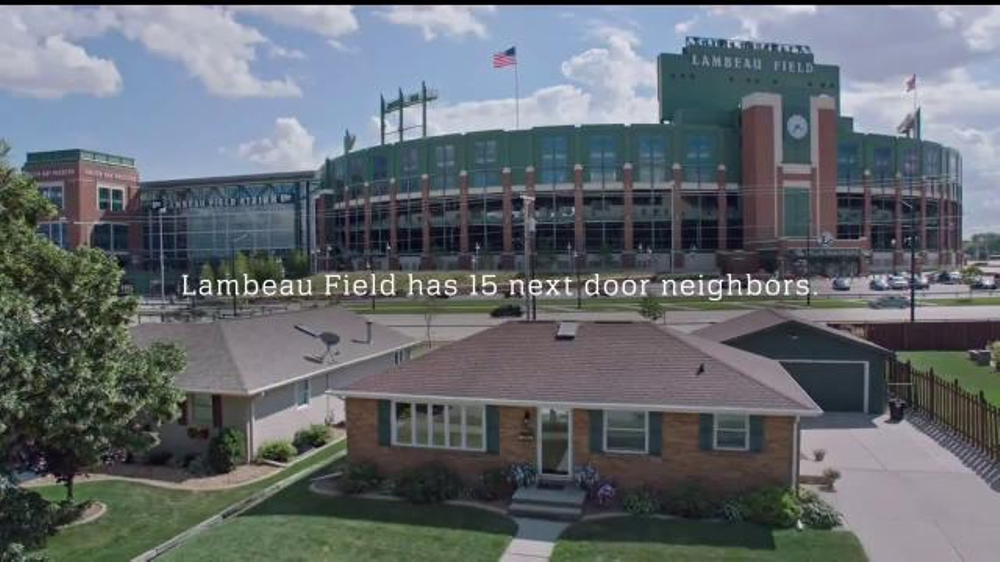 NFL TV Commercial, 'Football Is Family: Lambeau Field's Neighbors' Ft. Eddie Lacy