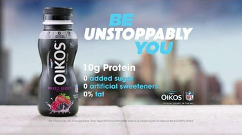 Oikos Nonfat Yogurt Drink TV Spot, 'Portable Life' - Thumbnail 7