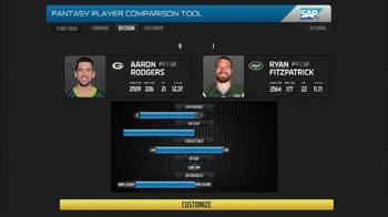 SAP Player Comparison Tool TV Spot, 'Week One' - Thumbnail 2