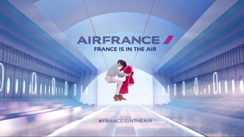 Air France TV Spot, 'France Is in the Air' Song by Glass Candy - Thumbnail 9