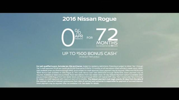 2016 Nissan Rogue TV Spot, 'Storm Cloud' - Thumbnail 9