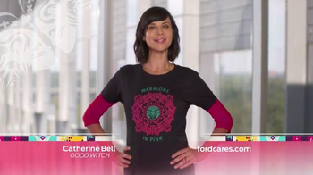 Ford Warriors in Pink TV Spot, 'Simple' Featuring Catherine Bell