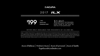 2017 Acura ILX TV Spot, 'Point of View' - Thumbnail 8