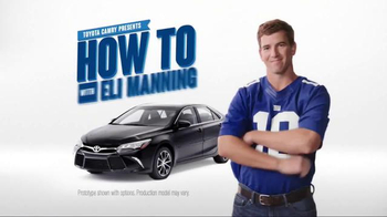 2017 Toyota Camry TV Spot, 'How to With Eli Manning: Wireless Charging' - Thumbnail 2